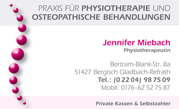 Pilar Garcia Physiotherapie